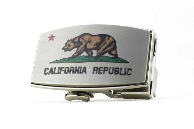 California Dreamin Pewter Buckle