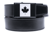 "Nexbelt Dress Belt Black / Fits up to 45"" waist Canada Heritage Black Series Dress Belt"