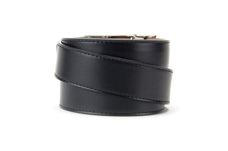 "Nexbelt Belt Black / Fits up to 45"" waist Canada Heritage Black Series Dress Belt"