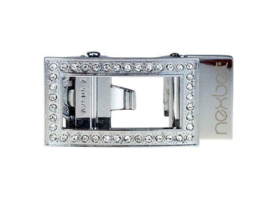 Allie Chrome Sleek Buckle
