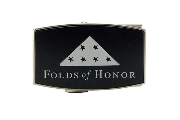 Folds Of Honor Black Aston Buckle
