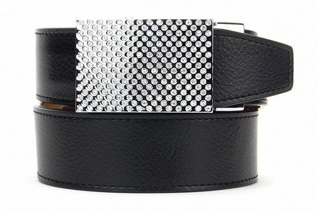 "Nexbelt Belt Black / Fits up to 40"" waist Gem Black Gem Series Golf Belts"