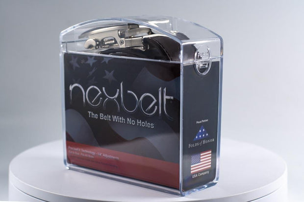 Nexbelt Accessories clear Nexbelt Acrylic Box