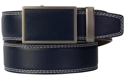 "Nexbelt Golf Belt Fits up to 45"" waist / Navy Match Belt Deep Sea Navy"