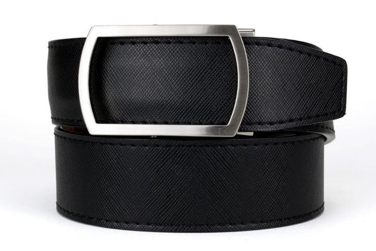 "Nexbelt Belt Black / Fits up to 45"" waist Midnight Raven Dress Belt"