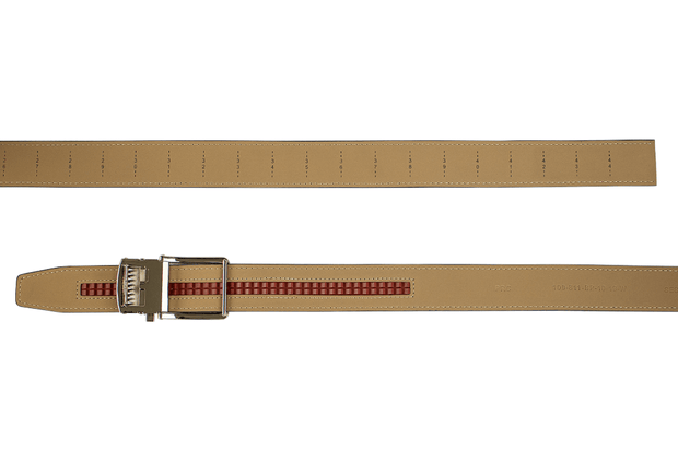 "Nexbelt Belt Fits up to 45"" waist / Grey Suede Tan"