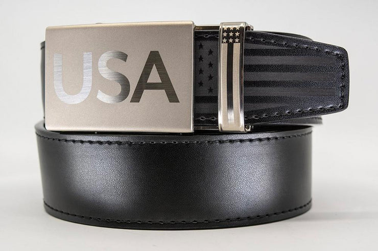 "Nexbelt Belt Black / Fits up to 45"" waist Super Patriot Black"