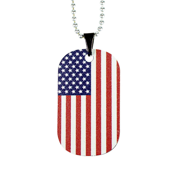 Nexbelt Accessories Blue Line Color Series USA Dog Tag