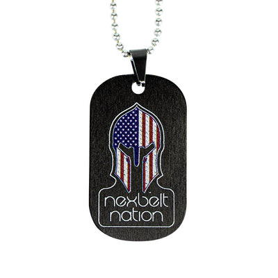 Nexbelt Accessories SPARTAN Color Series Spartan Dog Tag