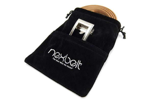 Nexbelt Accessories Black Velvet Travel Bag