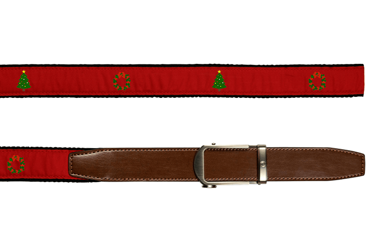"Nexbelt Belt Blue / Fits up to 50"" waist Hampton Tinsel Time"