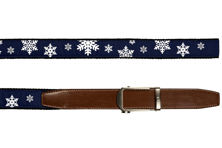 "Nexbelt Belt Blue / Fits up to 50"" waist Hampton Snowfall Blue"