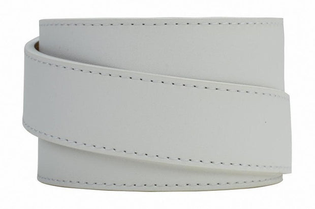 "Nexbelt Casual Belt White / Fits up to 45"" waist USA Heritage Aston White Ratchet Belt"