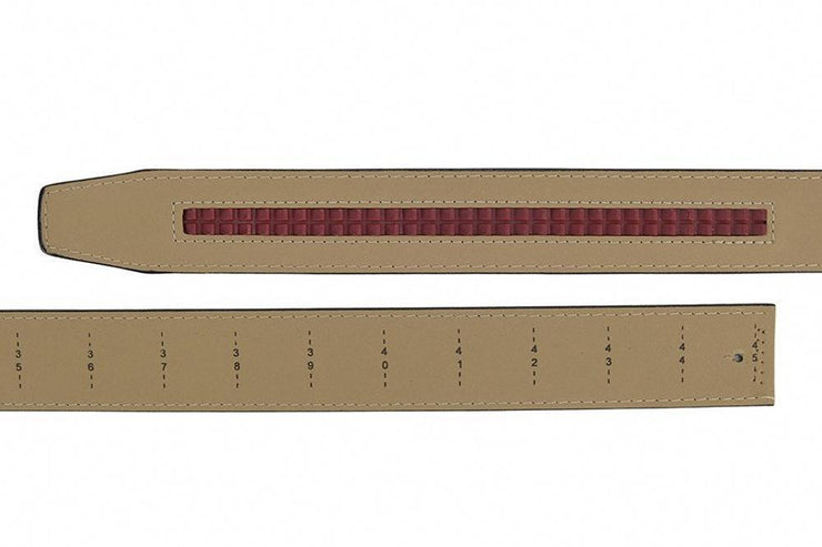 "Nexbelt Belt Brown / Fits up to 45"" waist Go-In Pebble Grain Tobacco"