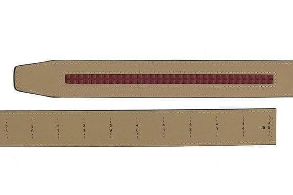 "Nexbelt Golf Belt Fits up to 45"" waist / Brown Go-In Pebble Grain Tobacco V.4"