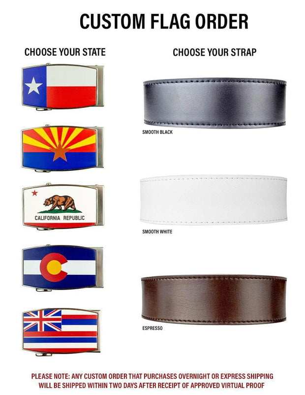 Nexbelt Belt Custom Flag Belt