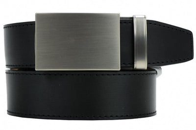 "Nexbelt Belt Black / Fits up to 45"" waist Fast Eddie Stainless Black 2.0 Ratchet Golf Belt"