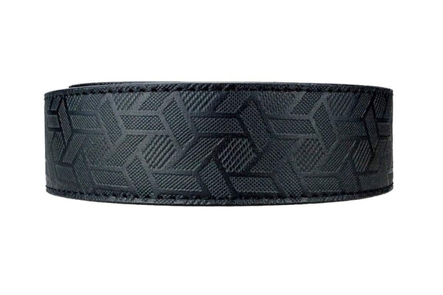 "Nexbelt Belt Straps Black / Cut to fit to 45"" Grid PreciseFit Leather Strap"
