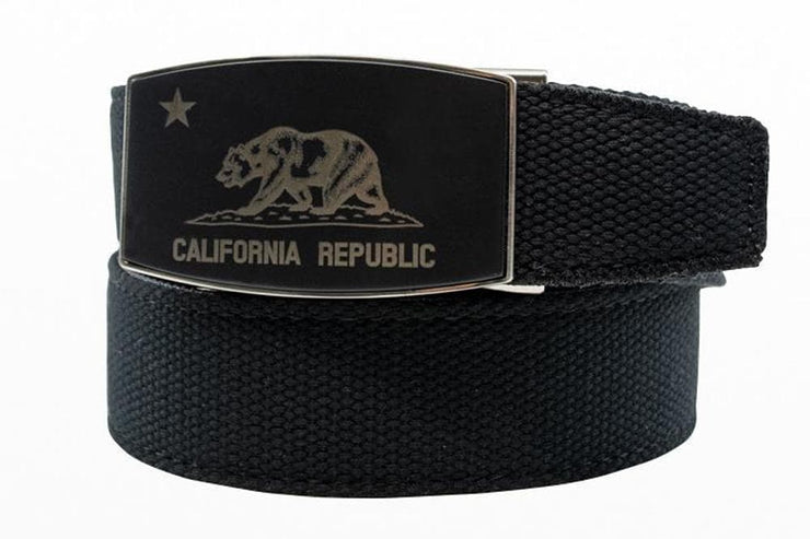 "Nexbelt Belt Black / Fits up to 50"" waist California Dreamin Belt Canvas Strap"