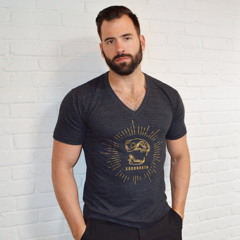 Men's V-Neck GoodNorth Logo T-Shirt
