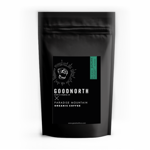 Organic whole coffee beans - GoodNorth Blend
