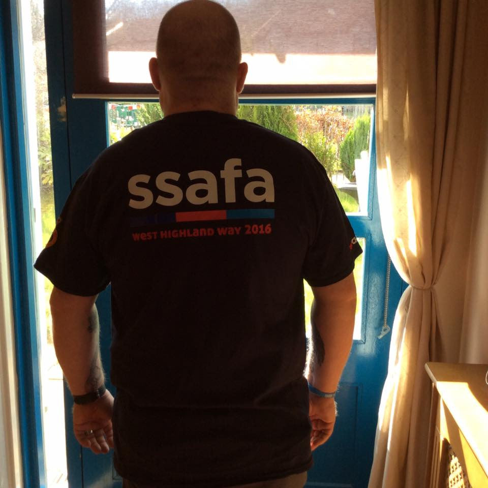West Highland way challenge for SSAFA