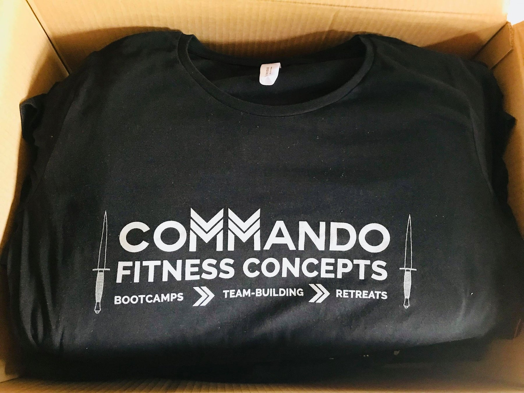 60 Tees Dispatched to Commando Training Firm