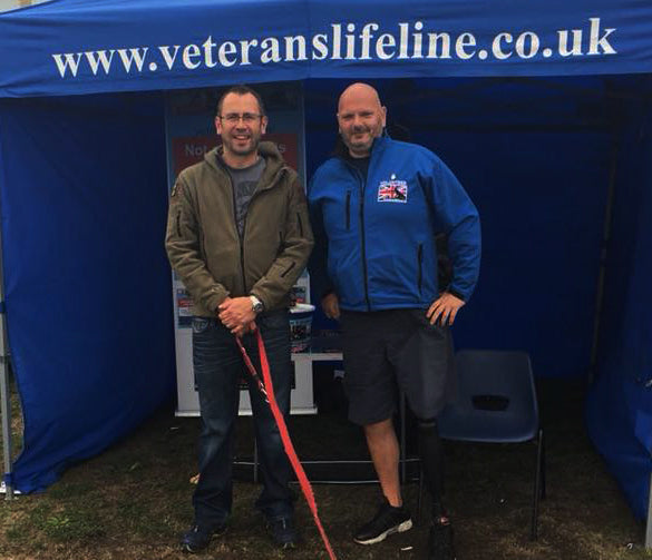 VETERANS LIFELINE AT LYTHAM 40s EVENT