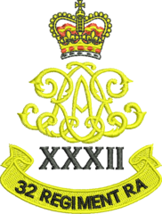 32nd Regiment Royal Artillery