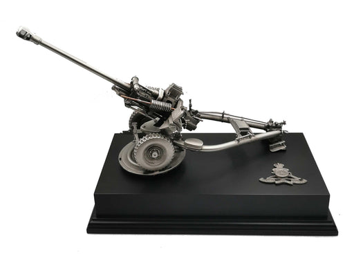 105 LIGHT GUN Pewter Statue