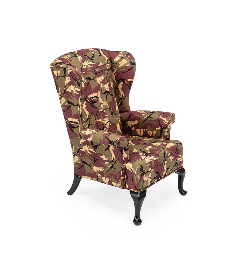 THE ARMY JUNGLE CAMO CHAIR