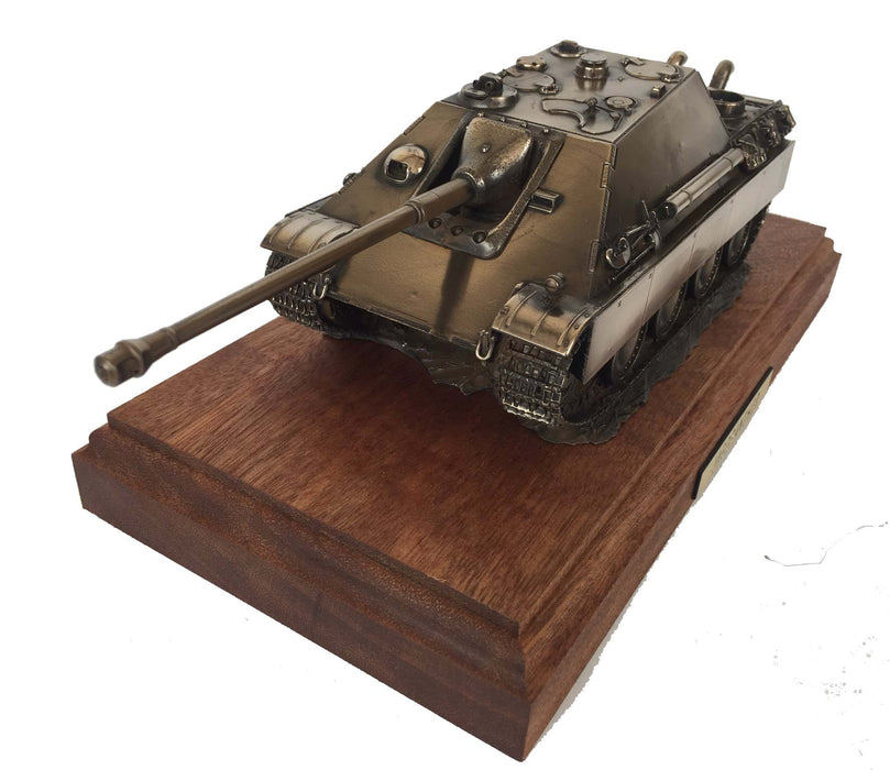 Jagdpanther Bronze Tank Destroyer Model