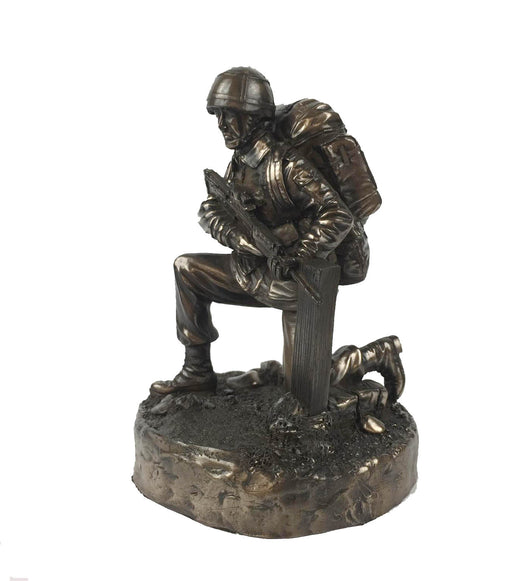 British Soldier Bronze Military Statue Sculpture