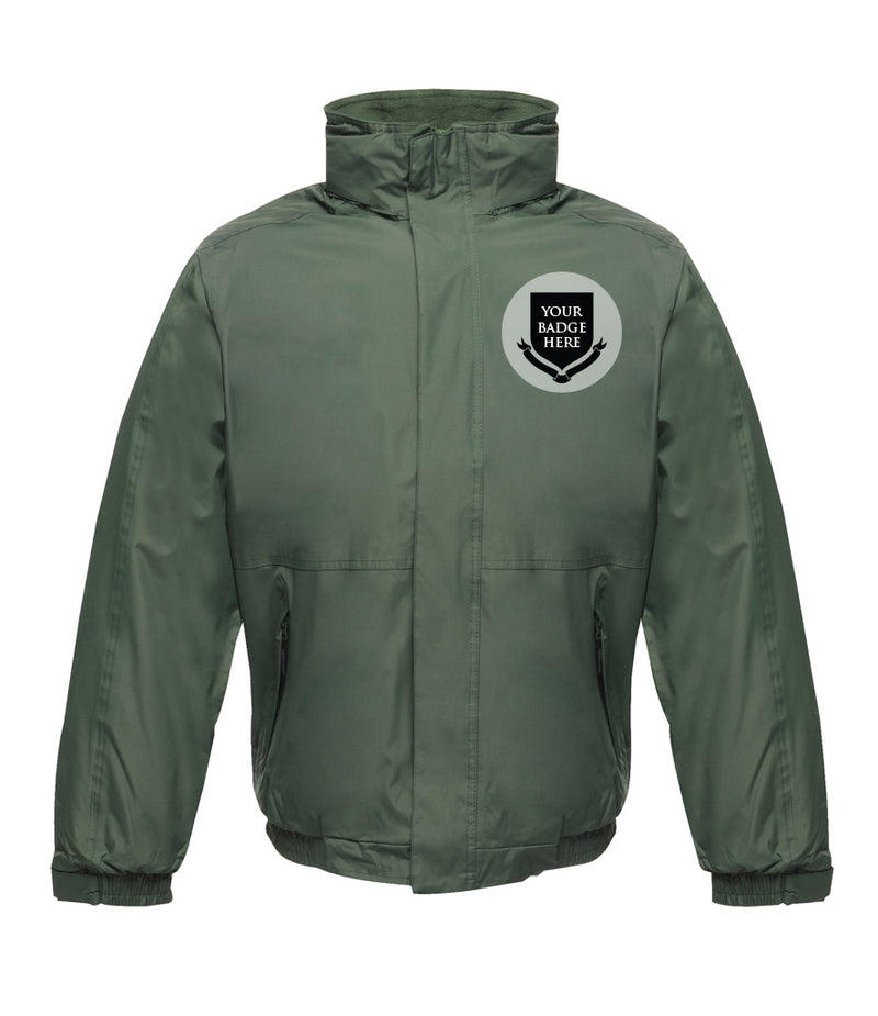 BRITISH ARMY UNITS Embroidered Regatta Waterproof Insulated Jacket