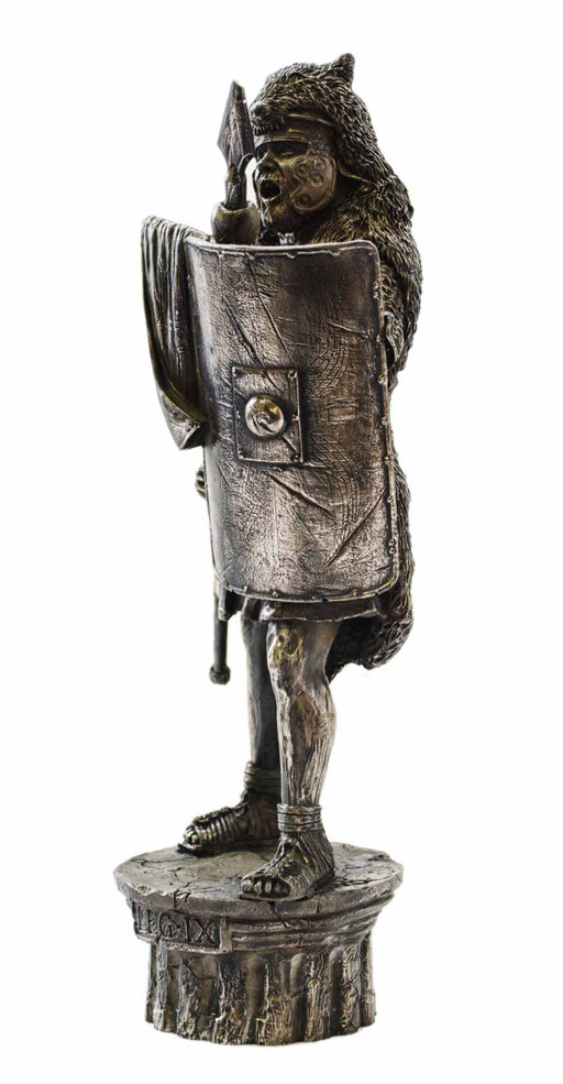 Roman Soldier 9th Legion Bronze Statue