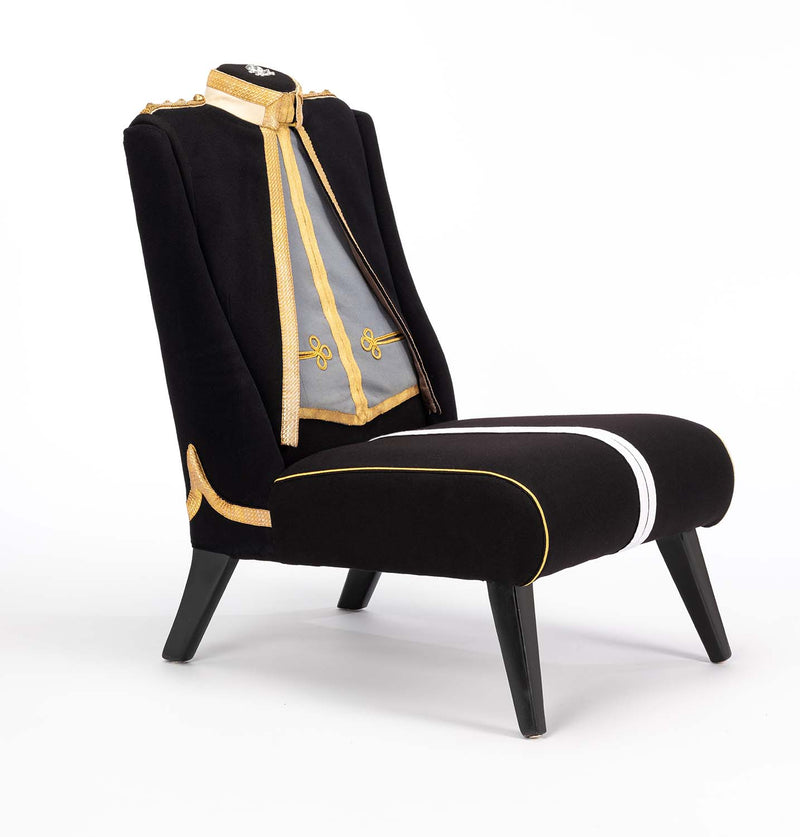 THE ROYAL LANCERS MESS DRESS CHAIR