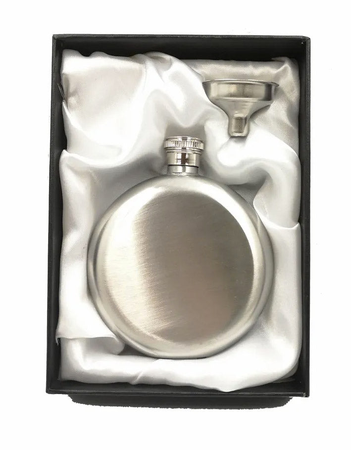Armed Forces Engraved 5oz Round Hip Flask Gift Set