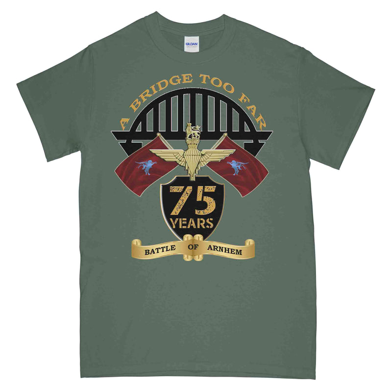 Arnhem 75 A Bridge Too Far Commemorative Printed T-Shirt
