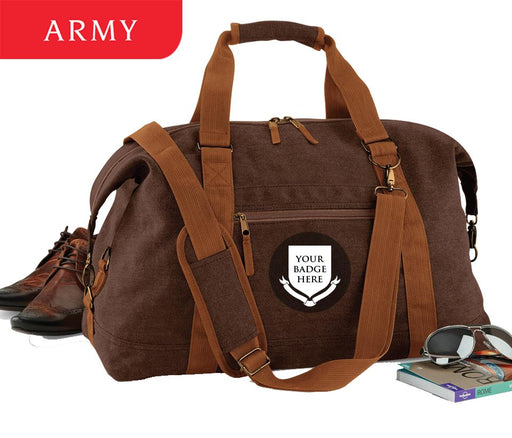 Bags & Satchels - BRITISH ARMY Regiments Vintage Canvas Satchel