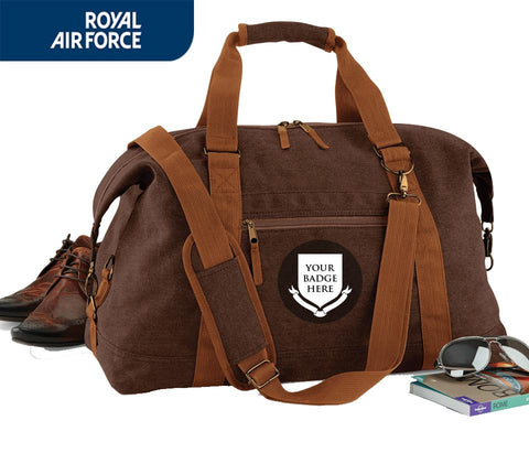 Bags & Satchels - ROYAL AIR FORCE RAF UNITS Vintage Canvas Satchel