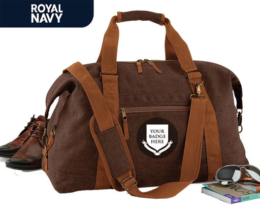 Bags & Satchels - The Royal Navy UNITS Vintage Canvas Satchel