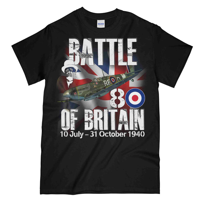 BATTLE OF BRITAIN 1940 Printed T-Shirt