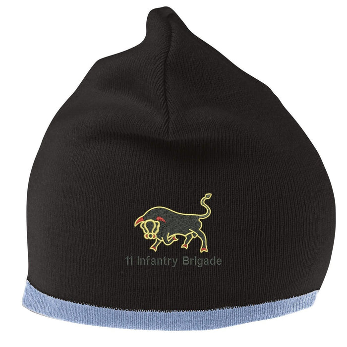 Beanie Hat - 11th Infantry Brigade Embroidered Beanie Hat