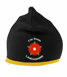 Beanie Hat - I'm From Lancashire Beanie Hat (One Size Unisex)