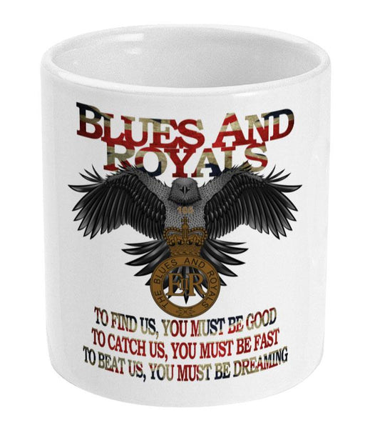 The Blues and Royals Eagle Ceramic Mug