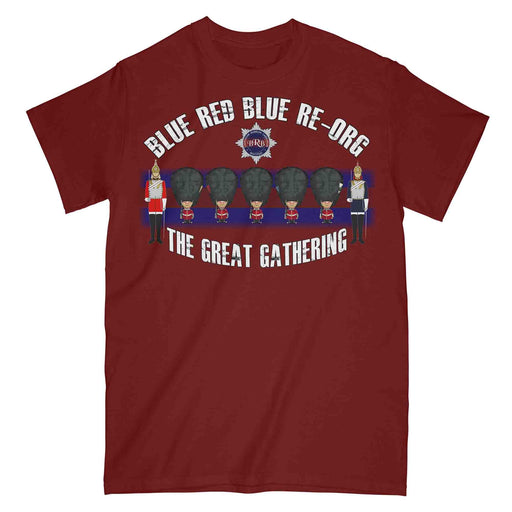 BRB RE-ORG The Great Gathering Military Printed T-Shirt