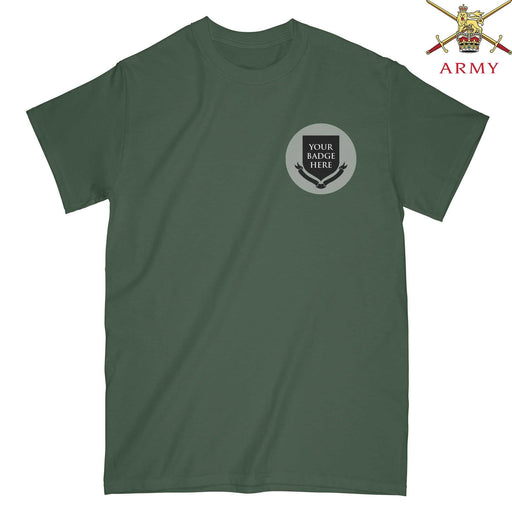 British Army Regiments Embroidered T-Shirt