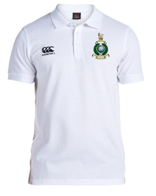 Canterbury Polo Shirt - Royal Marines Canterbury Pique Polo Shirt