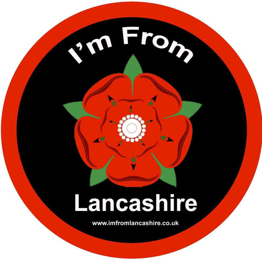 Car Stickers - 'I'm From Lancashire' Car Sticker