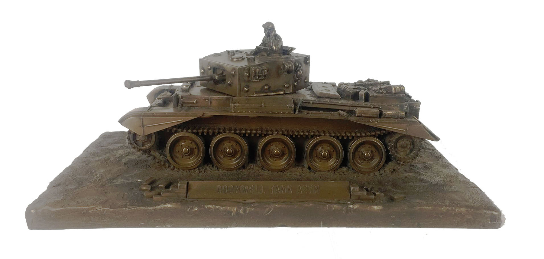 Cromwell MBT Bronze Statue